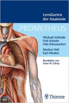 Prometheus Lernkarten der Anatomie: Box mit 367 Lernkarten aus den Gebieten RŸcken, Thorax, Abdomen und Becken, Obere ExtremitŠt, Untere ExtremitŠt, Kopf und Hals sowie Neuroanatomie ( 9. September 2009 )