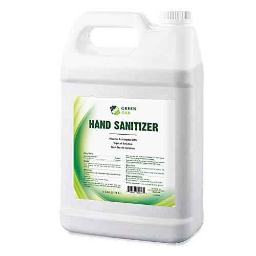 Hand Sanitizer - Green Oak Hand Sanitizer Spray Refill (1 Gallon)