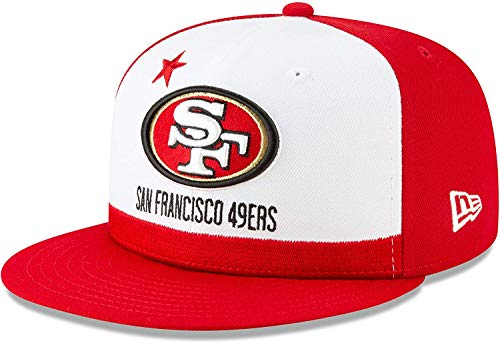 San Francisco 49ers 2019 NFL Draft Official On-Stage 59FIFTY Fitted Hat - Scarlet (7)
