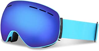 1393f85ee7 Esquí Gafas De Nieve Moto De Nieve Snowboard Patín Marco OTG Flexible Lente  Doble Anti-