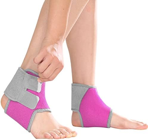 FakeFace Girls Boys Adjustable Compression Ankle Outdoor Max 41% OFF Support Inventory cleanup selling sale