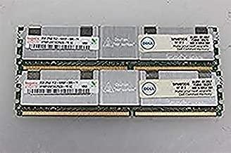 KIT OF 2 - HYNIX HYMP125F72CP8D3-Y5 2GB SERVER DIMM DDR2 PC5300(667) FULL-BUF ECC 1.8v 2RX8 240P 256MX72 128mX8 (2G x2) - TOTAL 4GB
