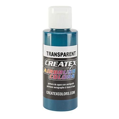 Createx 4 Oz Transparent Aqua by Createx