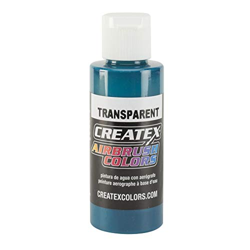 Createx 4 Oz Transparent Aqua by Createx