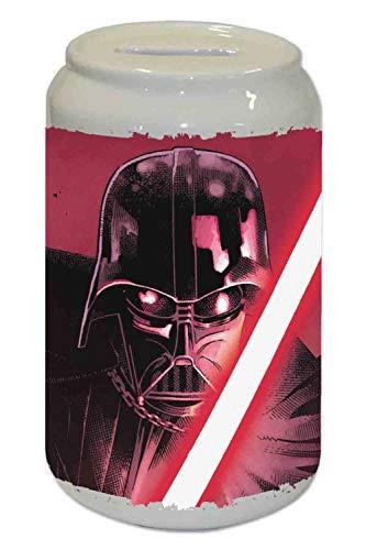 Capricci Italiani - Hucha de cerámica, diseño de Darth Vader de Star Wars