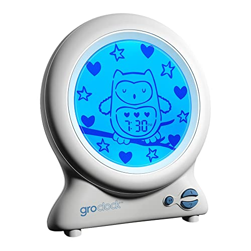 Tommee Tippee GroEgg2 Digital Colour Changing Room Thermometer and Night Light, USB Powered