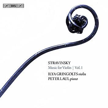 Stravinsky: Music for Violin, Vol. 1
