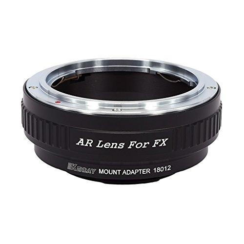 KECAY Compatible para Adaptador de Montaje de Lente Konica AR a Fujifilm...