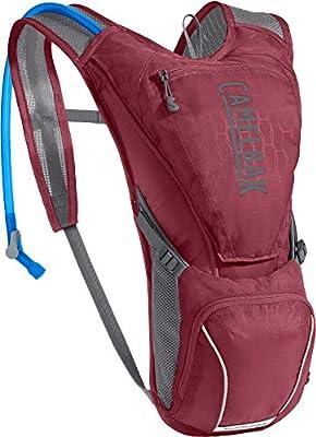 CamelBak Women's Aurora Bike Hydration Pack - 85 oz, Pomegranate/Graphite