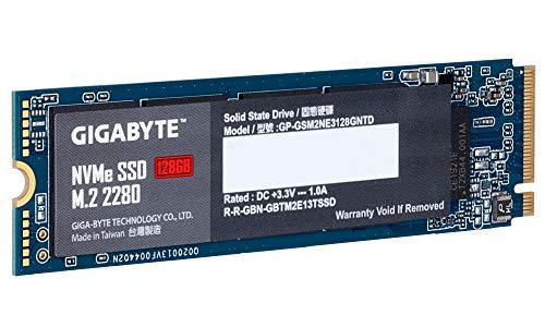SSD GIGABYTE 128GB NVME M-2 PCIE X2: Amazon.es: Informática