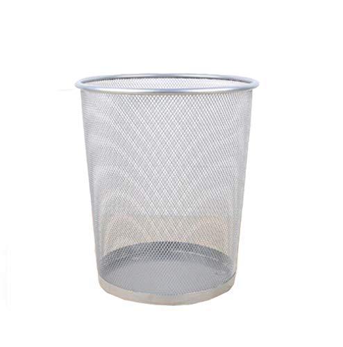 LJTYMM Mülleimer verdicken Vorratsbehälter Anti-Besticktes Haushaltseisen Netto Altpapier Müllsack,001
