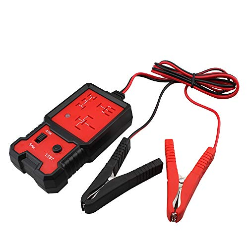 12V Electronic Automotive Relay Tester Auto Car Diagnostic Battery Checker Tool Relay Tester Automotive Kit