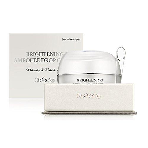 Elishacoy Korean Cosmetics_ Brightening Ampoule Drop Cream (Highly Enriched Skin, Skin Texture, Moisturizing, Anti-Wrinkle)