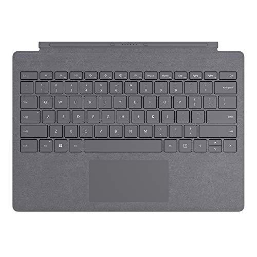 Microsoft Surface Type Cover, per Surface Pro Alcantara, Grigio Scuro