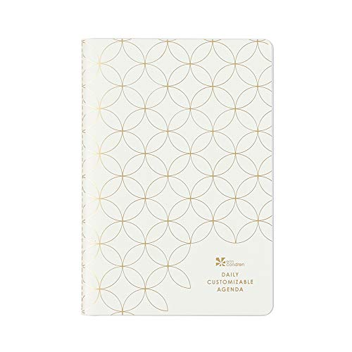 Erin Condren Custom Daily Planner - Undated Petite Planner, 3 Months. Features 3 Months of Undated Daily Spreads with a Vertical, Colorful Layout + Daily Mini-Months and Checklists and More