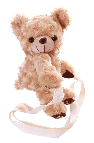 Kawaii-Story LB-232 Beige Teddy Bär Figur Niedlich Plüsch Tasche Lolita Pastel Goth Harajuku