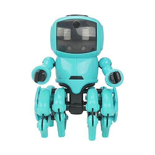 Robot Bouwstenen Speelgoedkit, DIY Gemonteerd Vermijd Obstakels/Volg Modus, Robots Populair STEM Leren Leerzaam Bots Speelgoed Geschenken Voor Meisjes Jongens Cadeaus