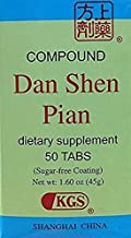 Compound Tablet of Scarlet Root (Fu Fang Dan Shen Pian) 50 Tablets X 10