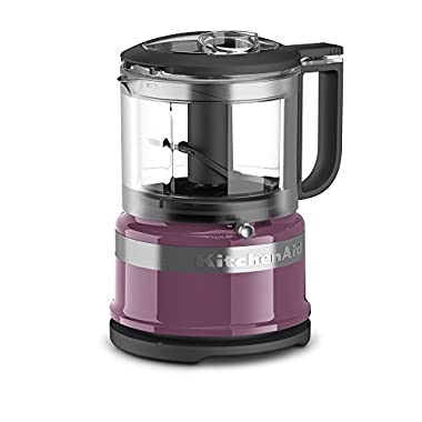 KitchenAid KFC3516BY 3.5 Cup Mini Food Processor, Boysenberry
