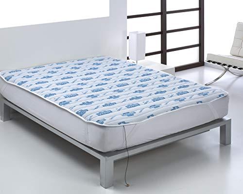 Bajera viscoelástica Cama de 135 cm | Bajera viscoelástica MÁS Vivir | Bajera para el colchón | Cubre colchón | Base magnética para el colchón | Base de imanterapia