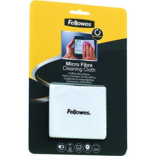 Fellowes 9974506 - Kit de Limpieza para Ordenador, Color Blanco