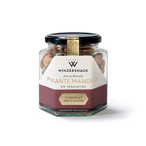 PIKANTE MANDELN · die Herzhaften · Passend zu Rotwein, perfekt zu Cabernet Sauvignon