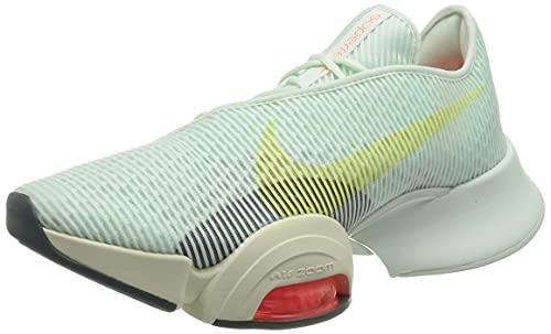 Nike Air Zoom Superrep 2, Gymnastics Shoe Mujer, Barely Green/Light Zitron-Bright Mango-Pale Ivory-hasta, 40 EU
