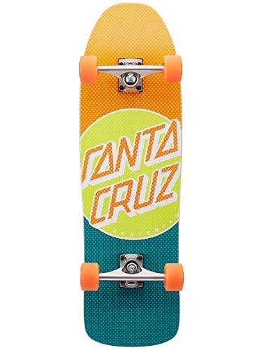 SANTA CRUZ Skate Cruiser Process Dot 9.35 x 31.7 80s