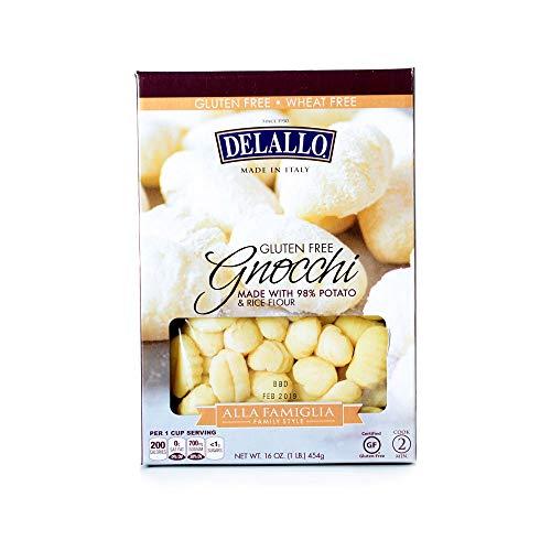 DeLallo Gluten Free Family Style Gnocchi 16 oz (pack of 6)