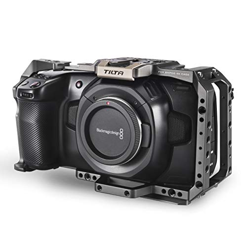 (Tilta Gray) TILTA TA-T01-FCC Full Cage BMPCC 4K / 6K Käfig Blackmagic Pocket Cinema Camera 4K / 6K Rig