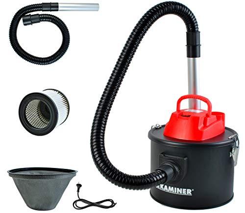 Aschesauger Elektrisch 10l 800W Kaminofen Grill 2 Filtersystem HEPA 6317