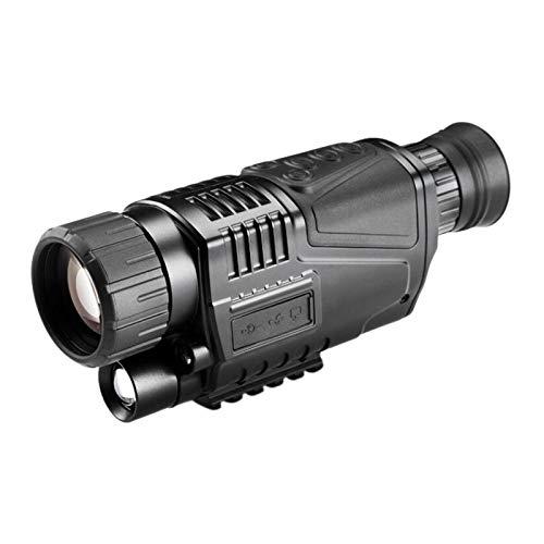 TOY Fernrohr Nachtsicht 50X40 Digital Infrarot Nachtsicht Goggle Fernrohr Für Die Jagd Konzert Fernrohr Mit Der Aufnahmefunktion Astronomisch/Schwarz/A