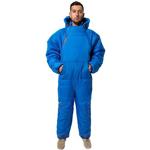"Selk'Bag ""Adult Lite 5G"" tragbarer Schlafsack Small Seaport Blue"
