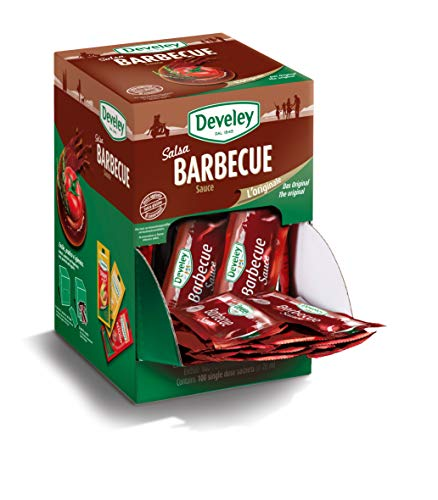 Aperisnack® - AP05.011.01 Salsa barbecue Develey monodose - 100 bustine da 20 ml