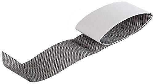 Windhager is Insektenschutz Repair Tape, Reparaturkit, Reparaturband Fiberglasgewebe,Fiberglas-Pflaster, Fliegengitter reparieren 5cm x 1m, 03627, anthrazit