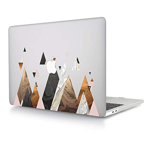ACJYX Compatible with MacBook Pro 13 inch Case Model A1278 with CD-ROM Old Version Release 2012 2011 2010 2009 2008, Print Pattern Coated Plastic Hard Shell Case Protective Cover, Simple Graphics
