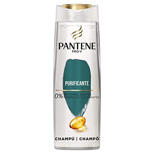 Pantene Pro-V Purificante Champú, Increíblemente Limpio y Ligero, 270 ml