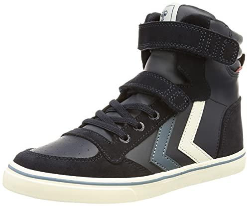 hummel Slimmer Stadil JR Sneaker, Black IRIS, 36 EU