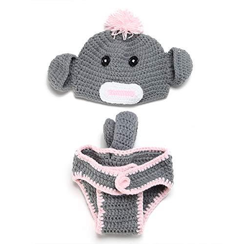 TXDIRECT Foto Requisiten Fotografie ZubehöR Neugeborenen Baby Fotografie Requisiten Neugeborenen Baby Hut Neue Geboren Baby Mädchen Zubehör Requisiten