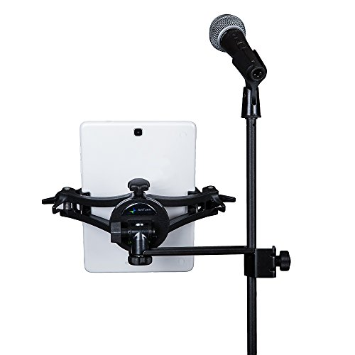 AirTurn Manos Universal Tablet and Phone Holder with Side Mount Clamp (Microphone and Mic Stand Not Included)