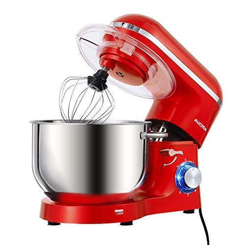 Aucma - Robot de cocina (1400 W, con bol de acero inoxidable...