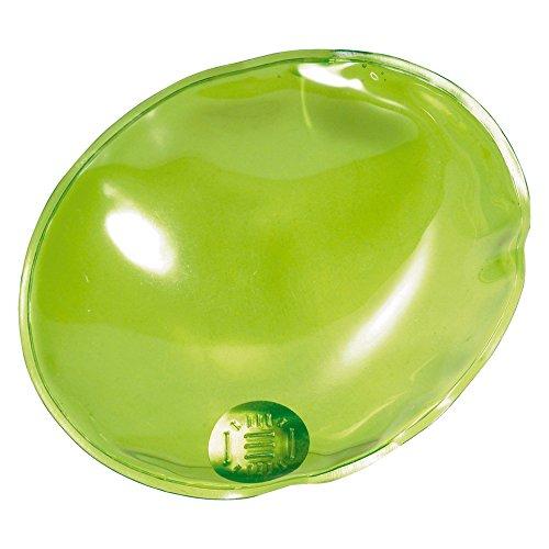 eBuyGB Gels Chauffants pour Les Mains Réutilisables M Transparent Green Oval