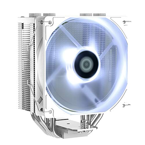 ID-COOLING SE-224-XT White CPU Cooler AM4 CPU Cooler 4 Heatpipes CPU Air Cooler 120mm PWM...