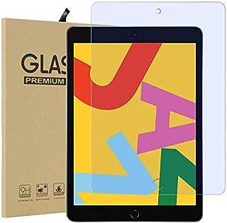 FiiMoo Anti Blue Light Protector de Pantalla Compatible con iPad 8.Generation (2020) /iPad 10.2 2019 /iPad 7, [Alivie la Fatiga Ocular] [Bloquea la luz Azul dañina excesiva y los Rayos UV] [Dureza 9H]