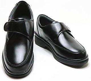 [アフターゴルフ] 2606 ウォーキング シューズ 幅広 4E ブラック (BL) 日本製 メンズ 靴 男性用