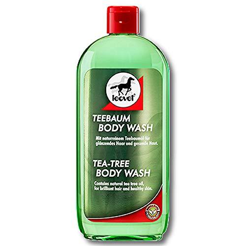 Leovet® Teebaum Body Wash 500 ml Teebaumshampoo Pferdeshampoo Fellshampoo Mähne