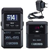Boss WL-60 - Sistema inalámbrico para guitarra (incluye fuente de alimentación Keepdrum de 9 V)