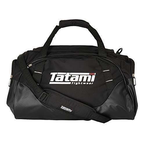 Tatami Fightwear Jiu-Jitsu Gi Competitor Kit Bag 45L Spacious Duffle Bag Carries All Your BJJ Clothing, Gi's, Accessories for Gym, Everyday Use, Features Vented Pockets and Storage Compartments