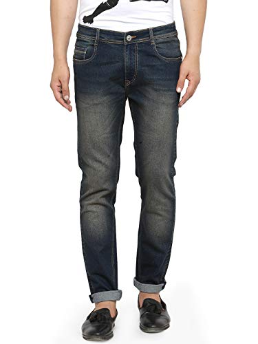 Ben Martin Men's Relaxed Fit Jeans (Brown, 34)