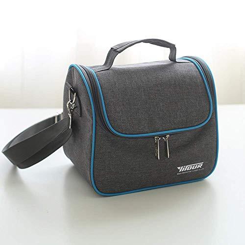 YANQIN Bolsa de hielo de mantenimiento fresco portátil de picnic, bolsa de aislamiento portátil, bolsa de almuerzo de tela Oxford, bolsa de picnic
